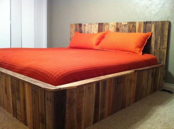 Fabulous Bedden zelf maken, pallets steigerhout en buizen. &RO12