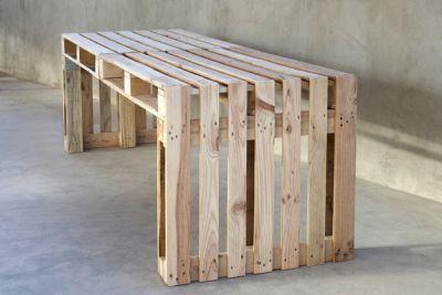 Zelf Tafel Maken : Tafel zelf maken van pallets en steigerhout
