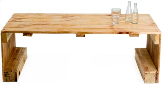 Houten Pallet Tafel.Tafel Zelf Maken Van Pallets En Steigerhout